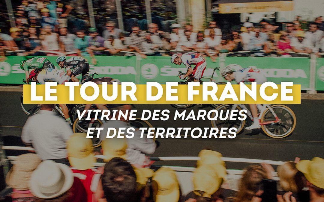 Le Tour de France, vitrine pour les marques et les territoires