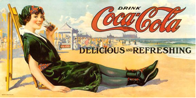 « Les Bathing Beauties » de Coca-Cola