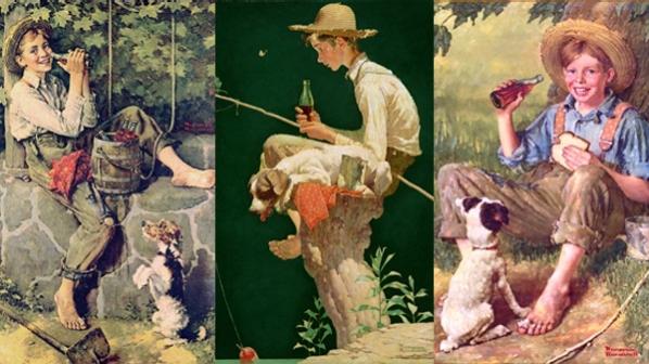 Un portrait idyllique de la société américaine: les peintures de Norman Rockwell