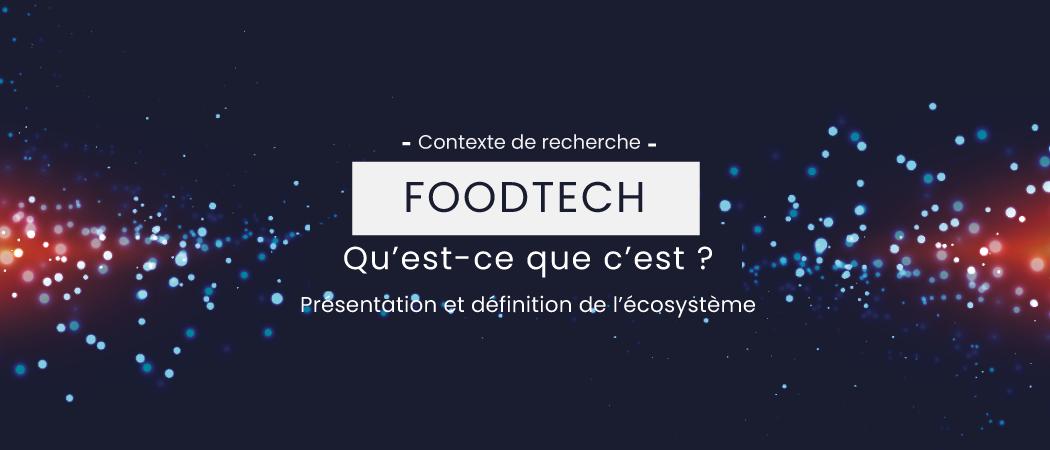Développement de l'écosystème FoodTech