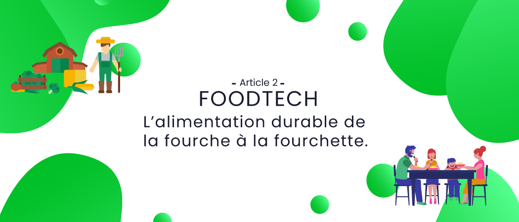 L'alimentation durable de la fourche à la fourchette.