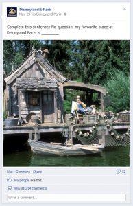 facebook Disneyland Paris 20 ans